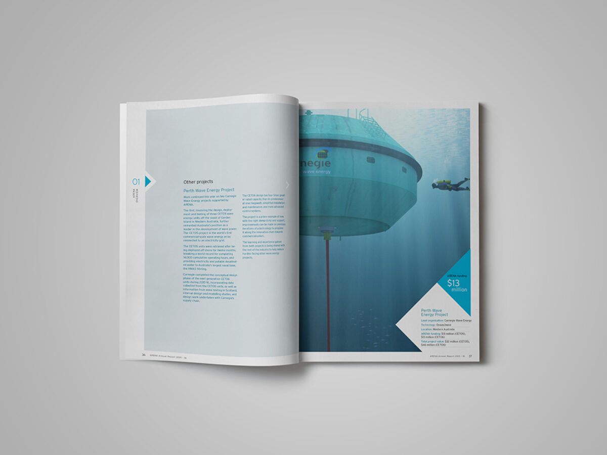 ARENA Annual Report Layout