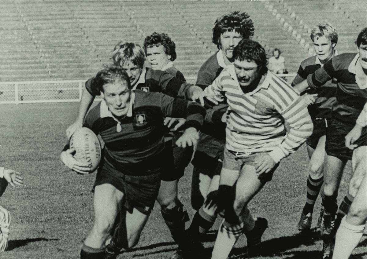 Dave Clark Ponsonby Club Rugby 1976