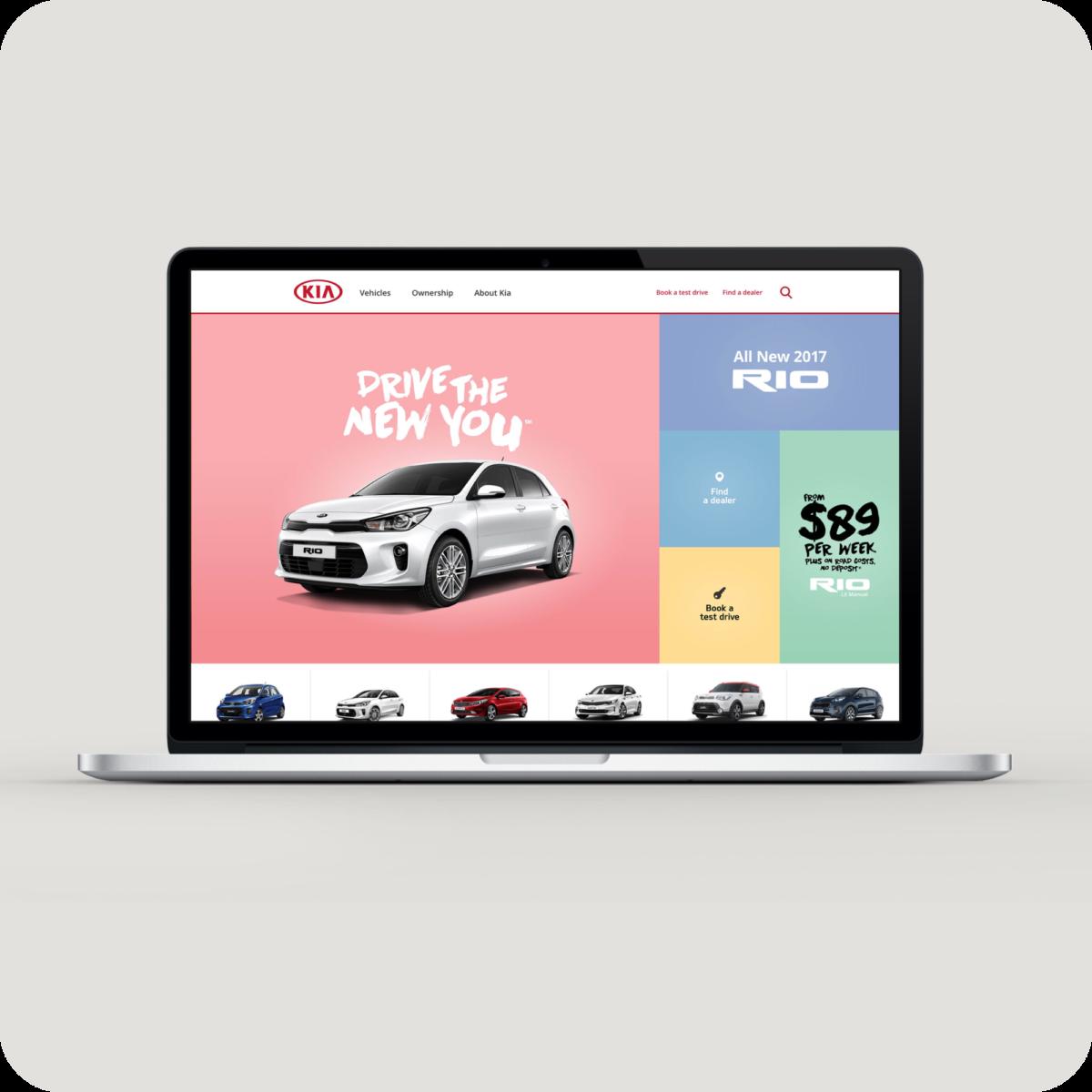 Macbook Kia layout design