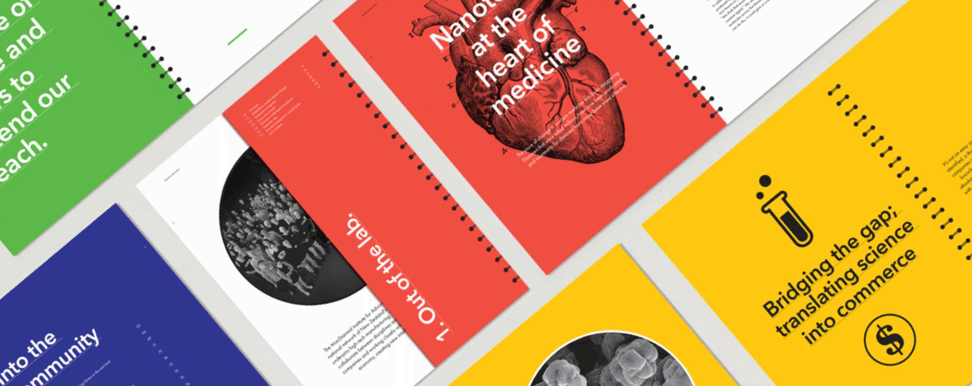 Annual Reports Dave Clark Design Banner