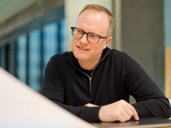 Dave Clark Design staff Devin