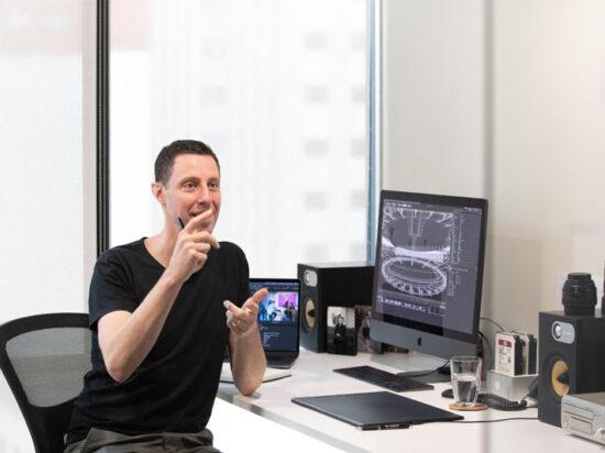 Dave Clark Design staff Mike