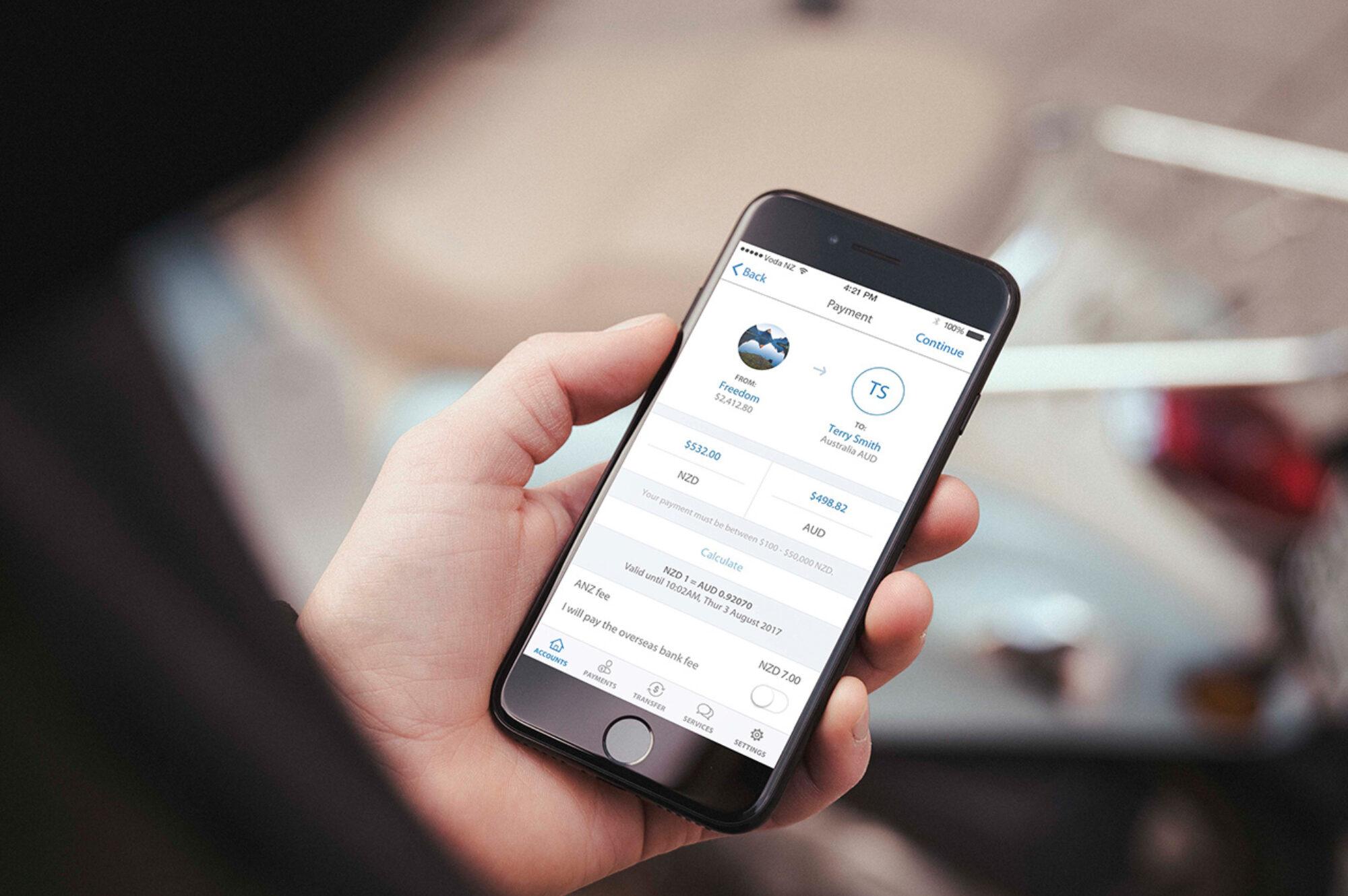 UX-User Experience GoMoney ANZ app