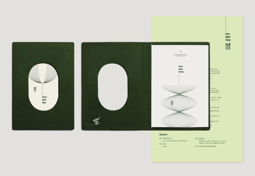 WLG Menu design