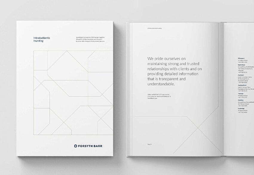 Forsyth Barr Publication Design