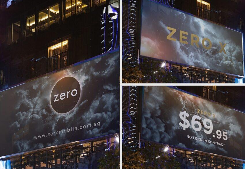 Zero Billboard Design