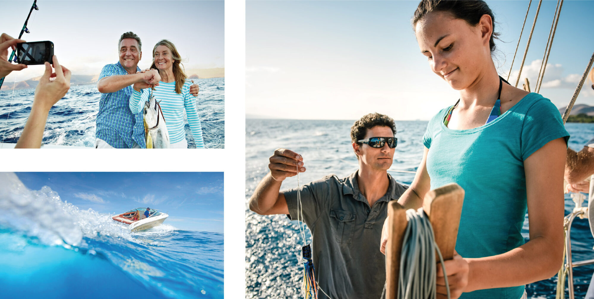 Club Marine brand photography