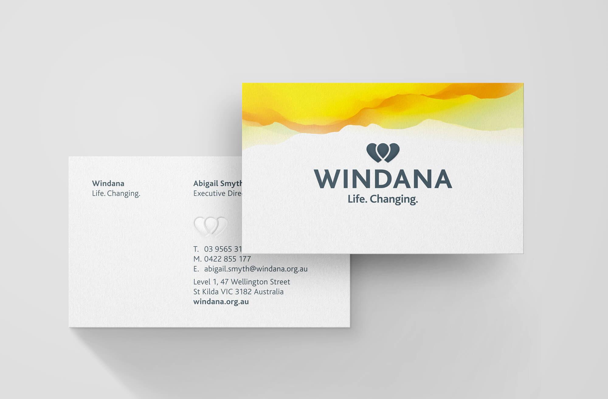 Windana 02 Business Card