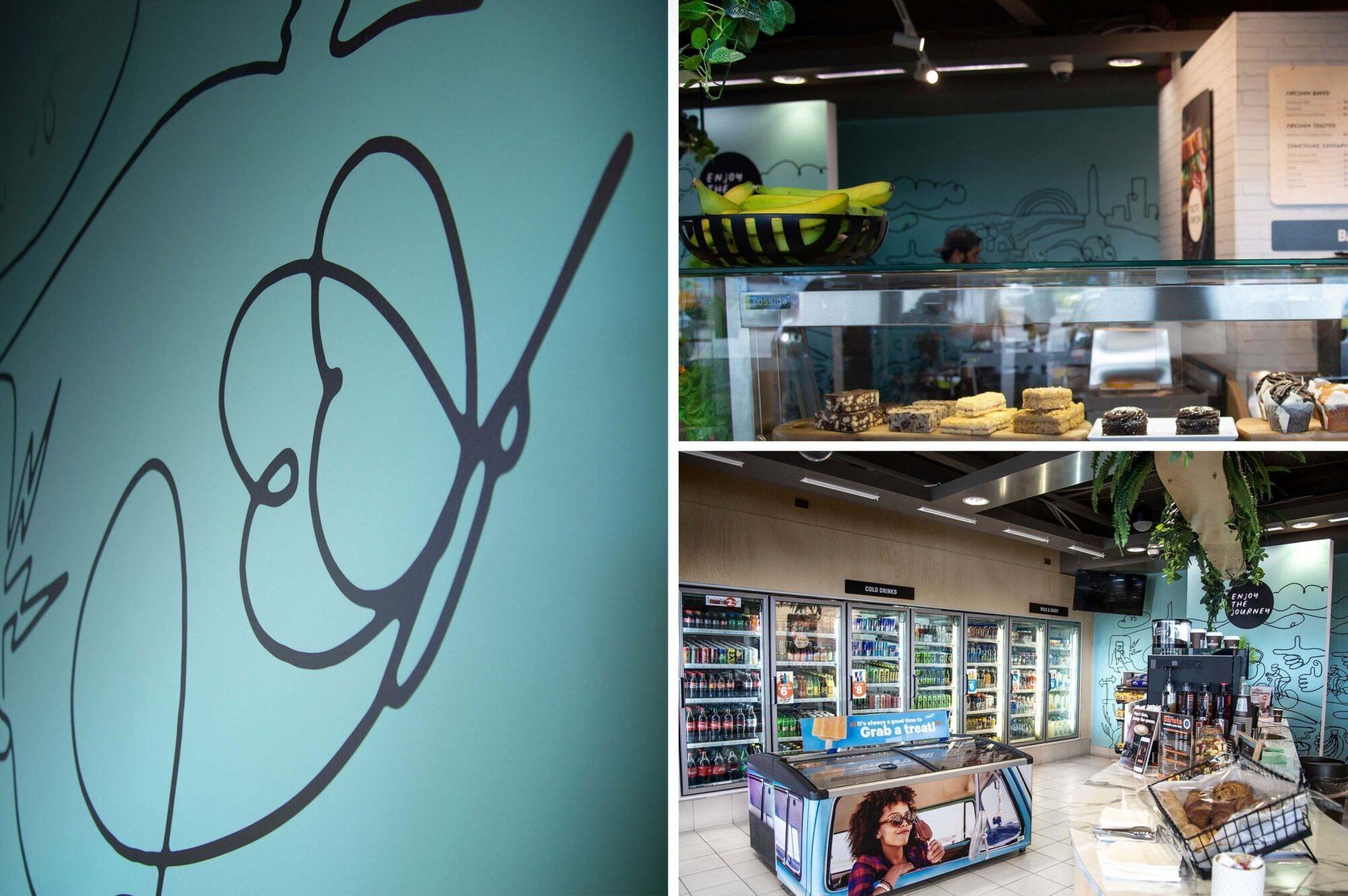 Z Espress store interior design