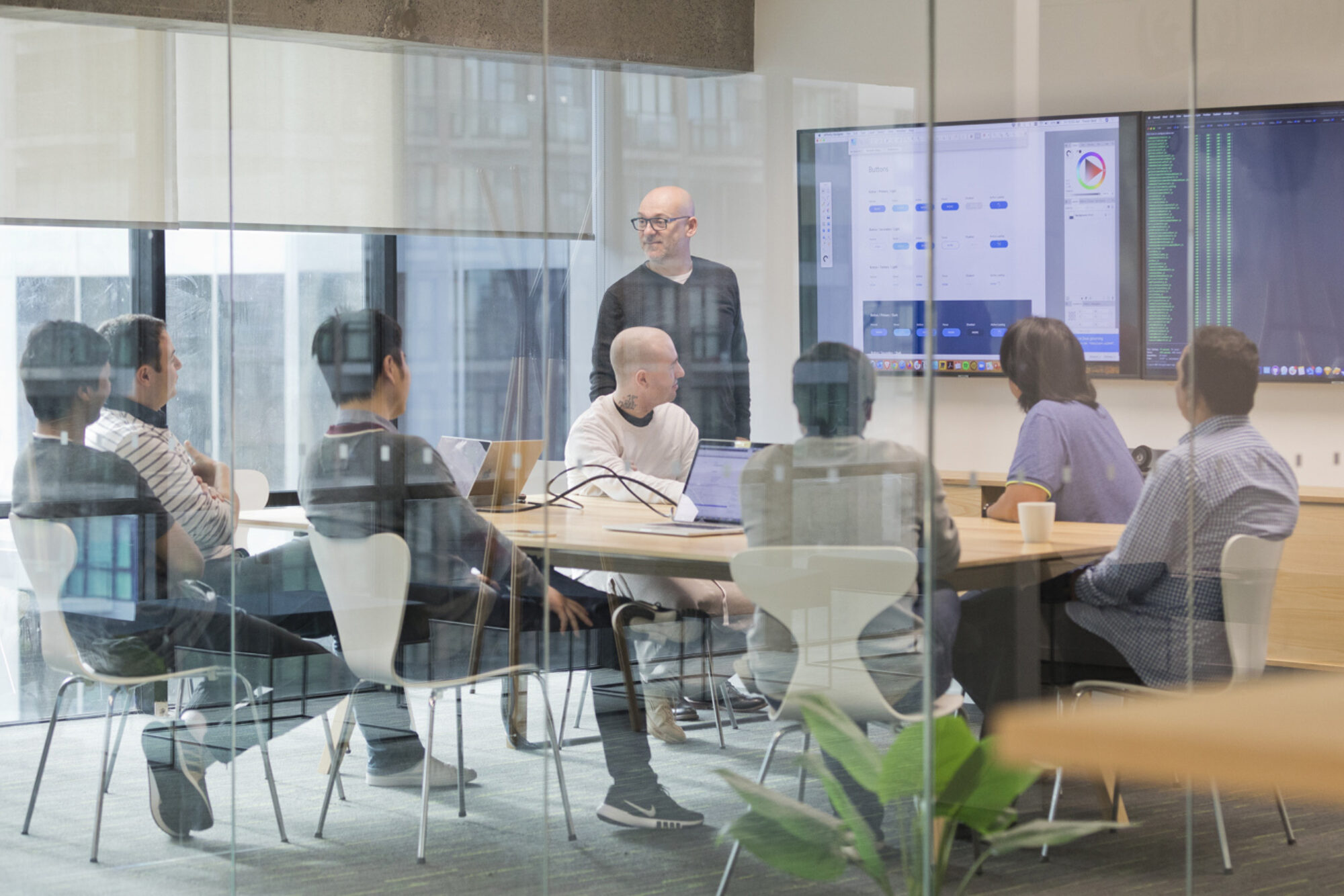 Website development banner digital team