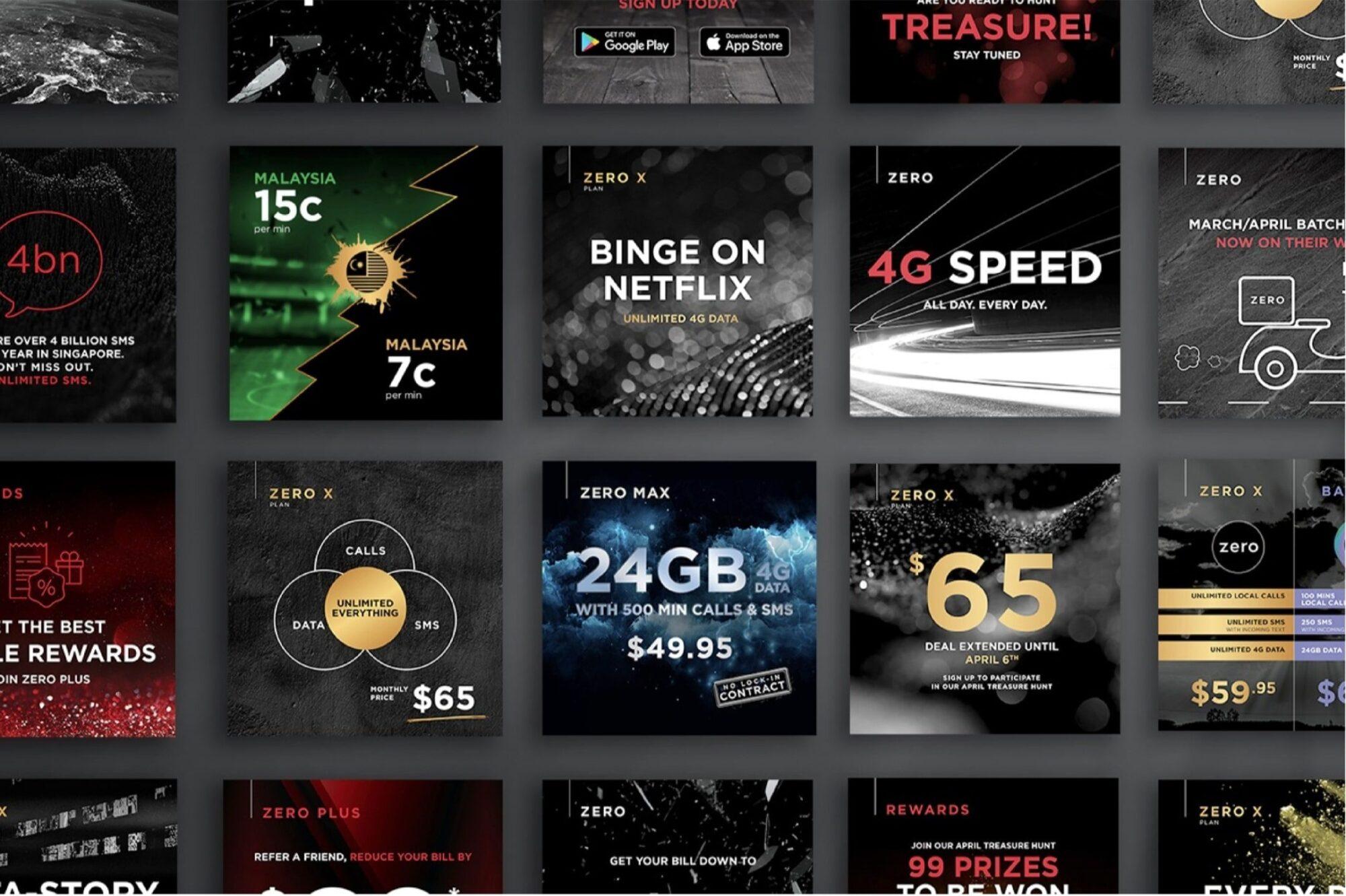 Zero Advertising Designs