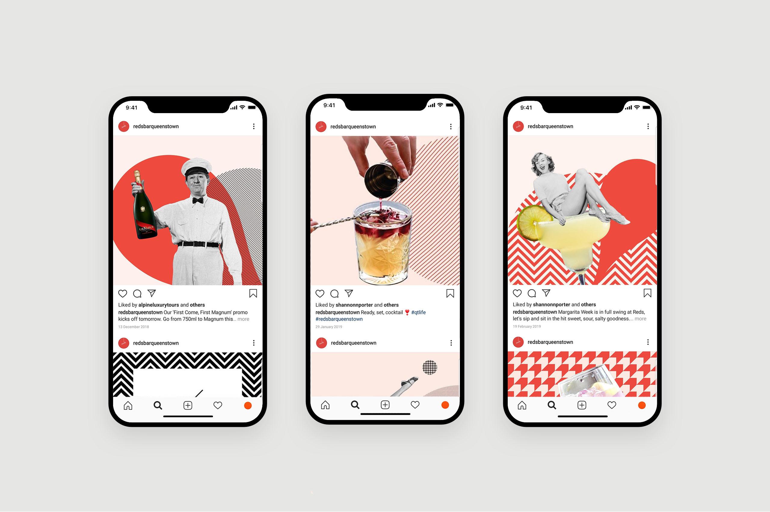 Reds Mobile Social Media
