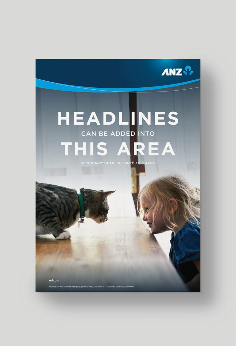 ANZ Brand Poster