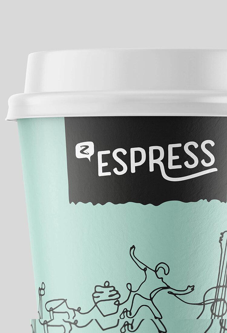 Z Espress cups logo