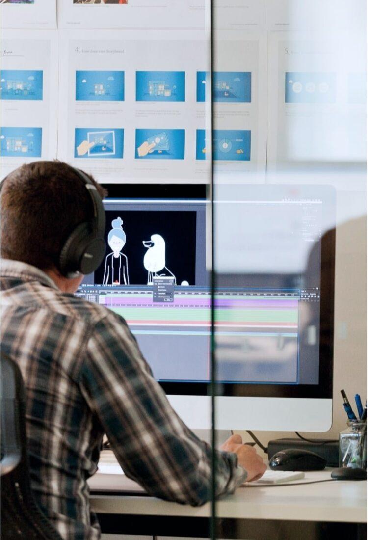 Staff photo motion design contractor
