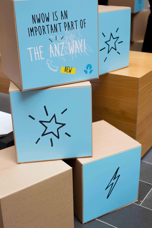 ANZ NWOW graphic design box